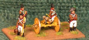 15mm, Napoleonic Austrian Artillery 6pdr & 12pdr Foot, 6pdr Horse  AB figures